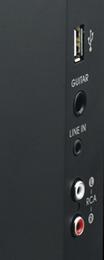 TDK boombox inputs