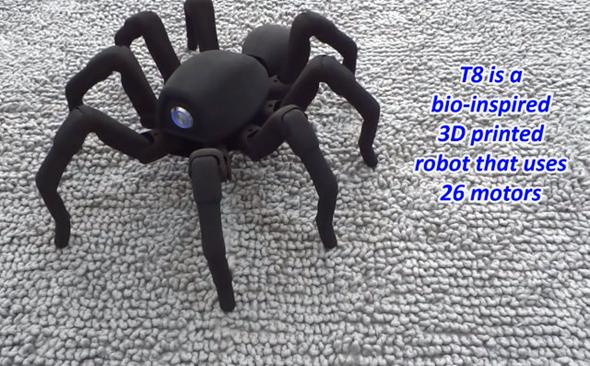 T8 Robotic Spider