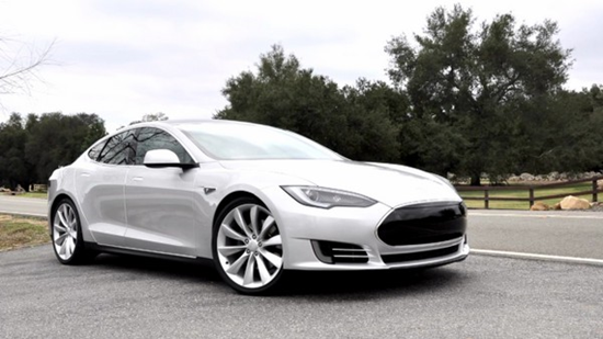 Silver Tesla Model S Video