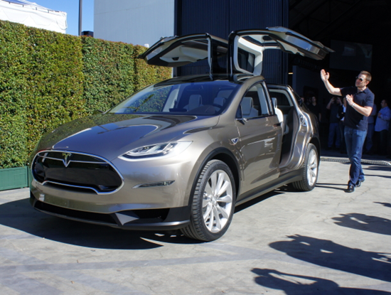 Tesla Model X Falcon Wing Doors