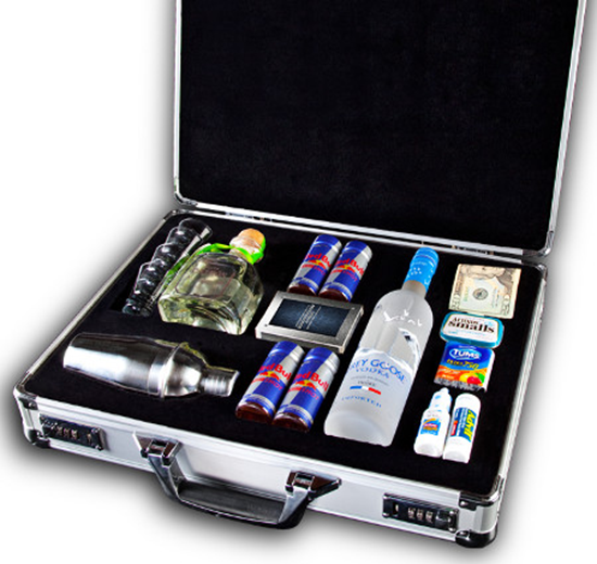 The Football Party Briefcase