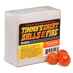 Ghost Pepper Candy Timmy's Great Balls of Fire