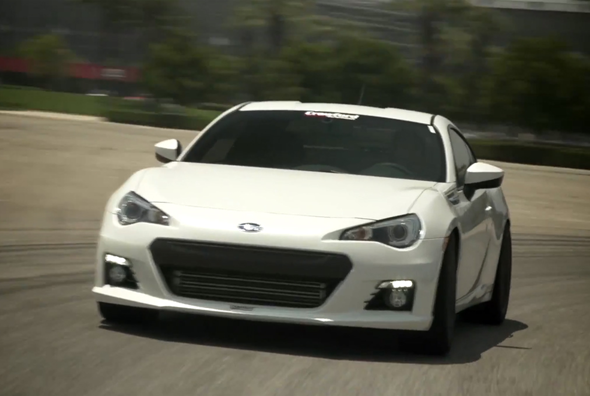 Turbo Charged Subaru BRZ Makes Just Under 500-HP ...