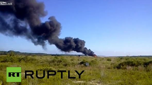 US Drone Crash In Florida