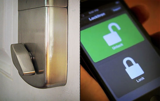 Lockitron iPhone Door Lock