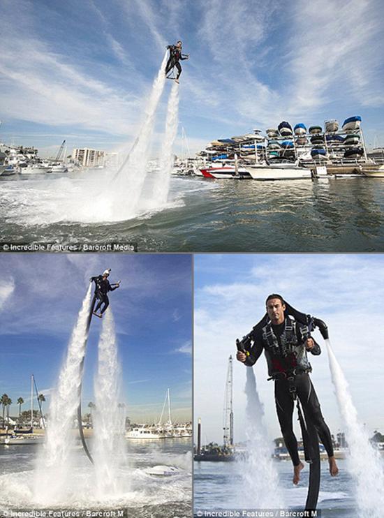 Rent Water Powered Jetpack Jetlev R200