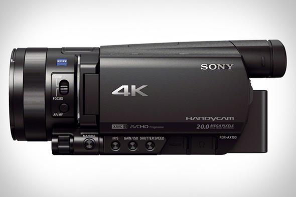 Sony FDR-AX100/B 4K Camcorder