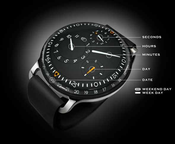 Ressence Type 3 Watch Details
