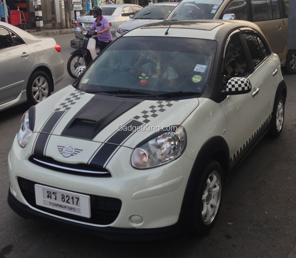 Nissan Mini Cooper Copy