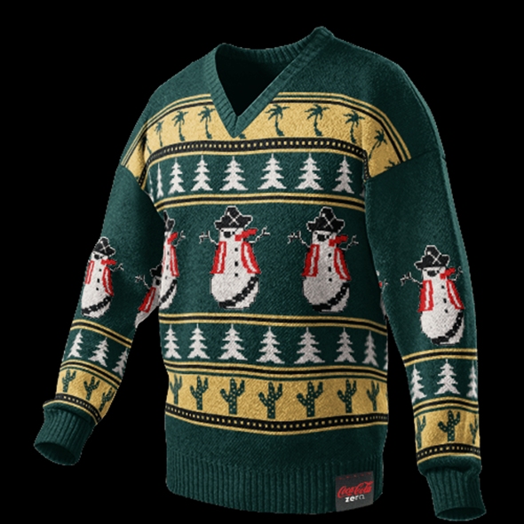Coca Cola Zero Ugly Christmas Sweater Generator
