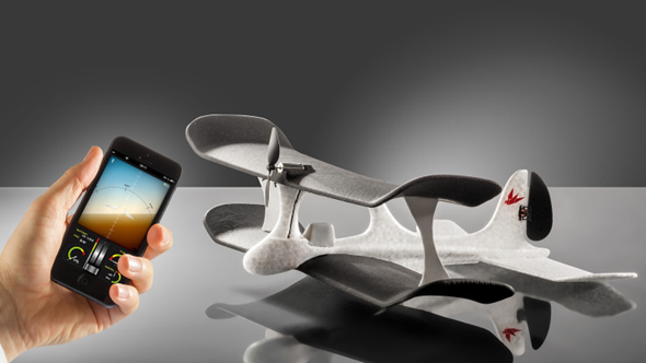 iPhone Controlled Airplane SmartPlane