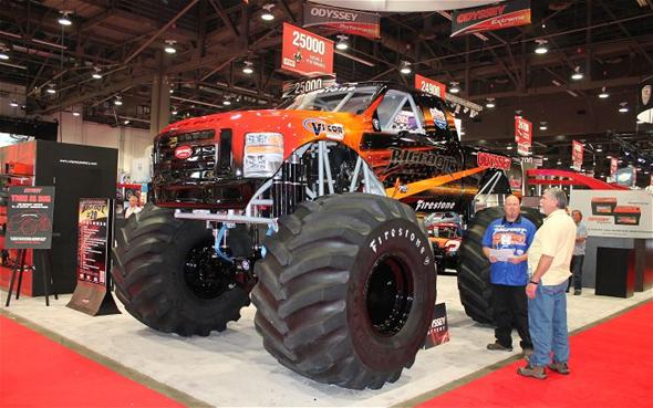 Electric BIGFOOT Monster Truck