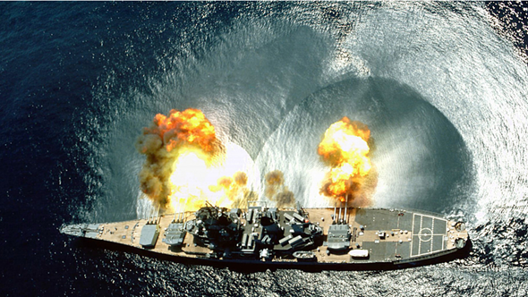 Navy Ship Shooting