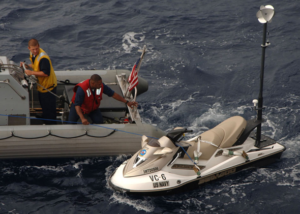Navy Jet Ski Targeting