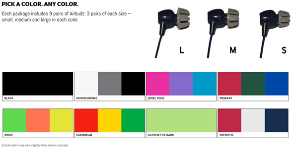Airbuds Ambient Sound Earbuds
