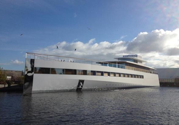 Steve Jobs Super Yacht Venus