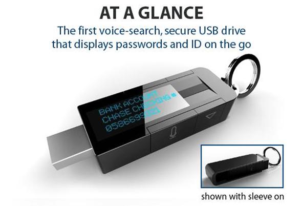 myIDkey Biometric Password Storage USB Drive