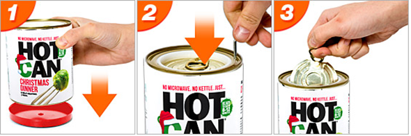 Hot Can Self Heating Meal