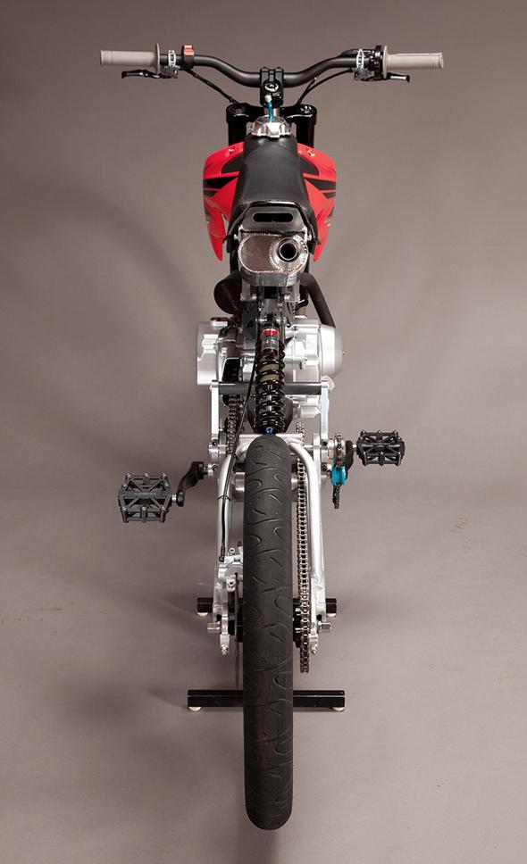 Motoped Rear