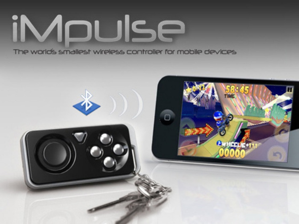 iMpulse wireless game controller and key finder