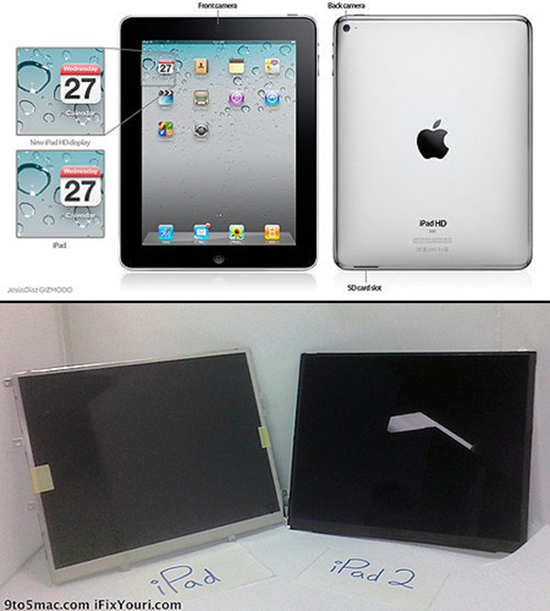 iPad 2 Display Pictures Leaked