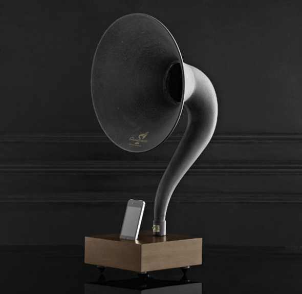 iPhone Gramophone Dock