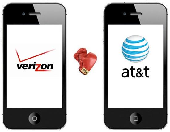 verizon vs att iPhone