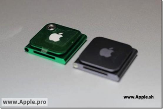 Apple iPod Nano Spy Shot